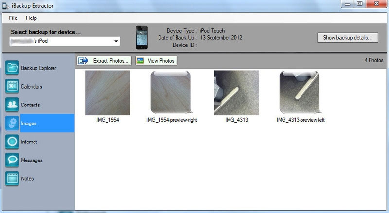 itunes backup extract software