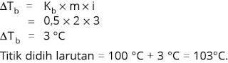 contoh menghitung titik didih larutan