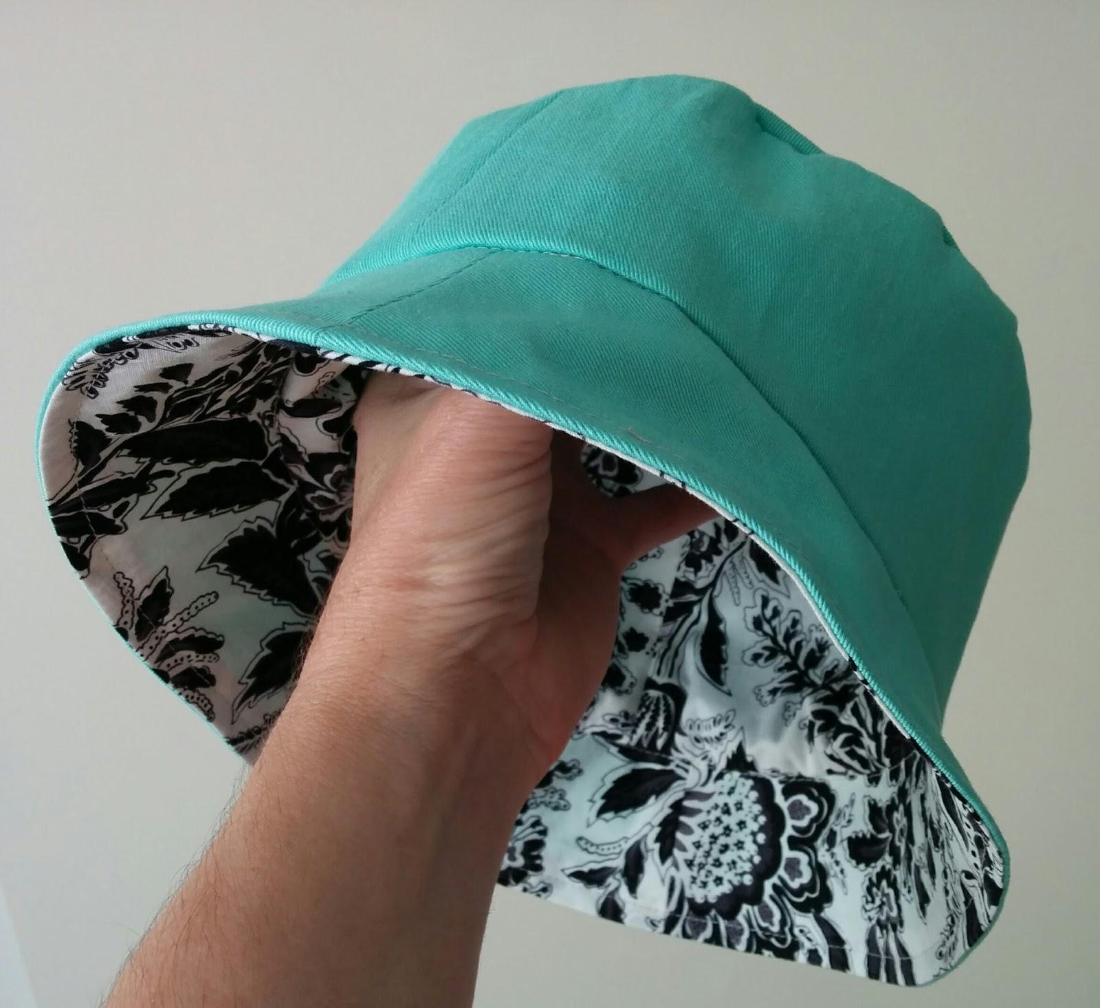Seaside Fabricrafts  Fabulous Reversible Bucket Hat - Free Pattern ... 433f9a49dc7