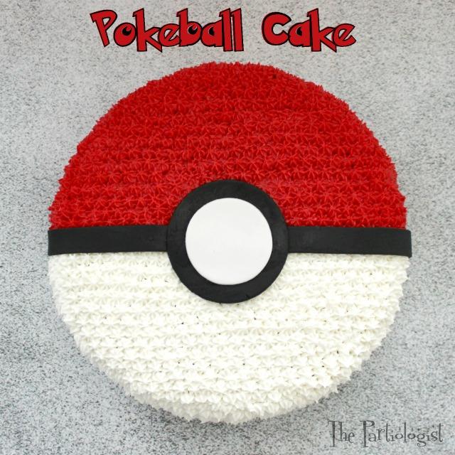 Make A Pokemon Cake