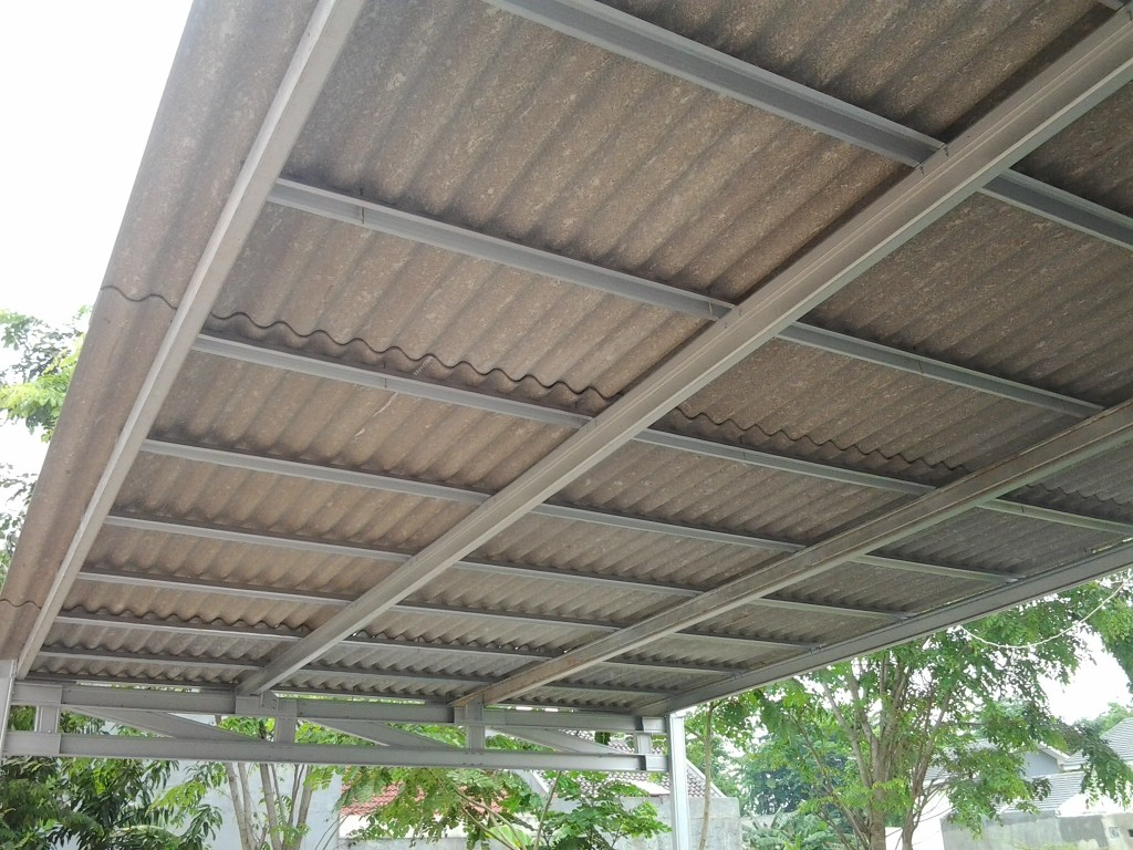 rangka baja ringan untuk atap asbes efek negatif jangka panjang penggunaan metro truss