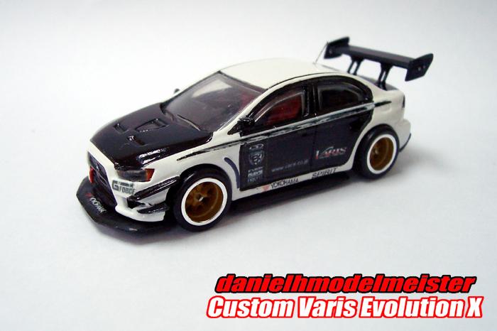 My Hot Whels Hotwheels Custom Varis Mitsubishi Lancer