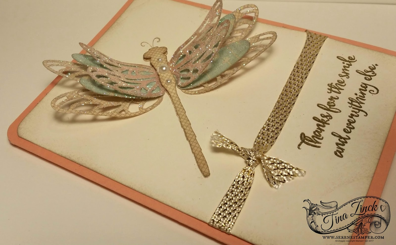 The Serene Stamper: Dragonfly Dreams Card Tutorial