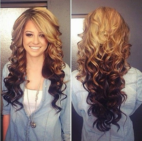 Blonde and brown hair color ideas tumblr Blonde and brown hair ...