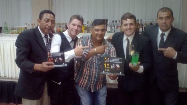 TURISMO Gravataense é campeão pernambucano de coquetelaria