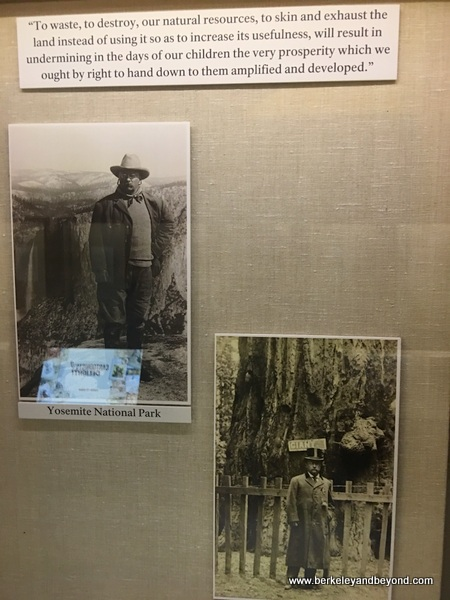 display at Theodore Roosevelt Birthplace in NYC