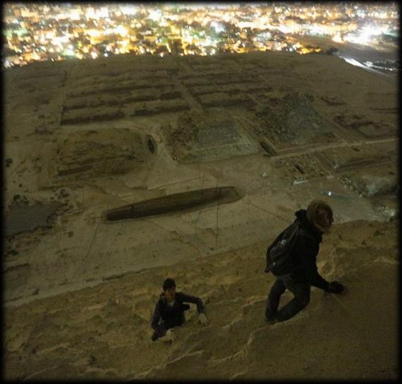 giza 3 - Increíbles fotos de la parte superior de la pirámide de Giza