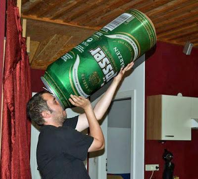 Bier saufen extrem lustig
