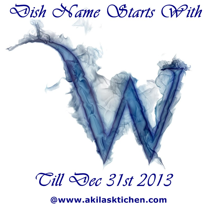 The Dish Name Must Start With W Any No Of Archived And New Entries Accepted Link The Post To The Announcement Page