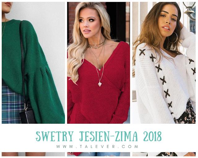 Najmodniejsze swetry tej zimy