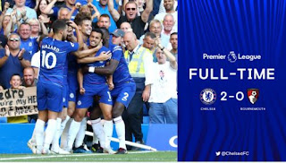 Chelsea vs AFC Bournemouth 2-0 Video Gol & Highlights