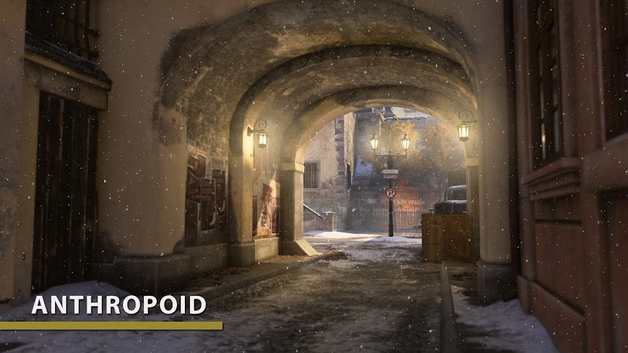 call of duty wwii the resistance anthropoid map
