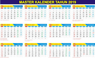 download kalender 2019 cdr gratis lengkap