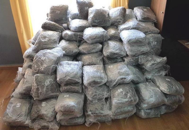 Πάνω από 263 κιλά ακατέργαστης κάνναβης εντοπίστηκαν και κατασχέθηκαν στην Αλεξανδρούπολη