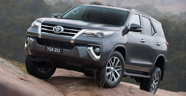List of Toyota Fortuner Types Price List Philippines