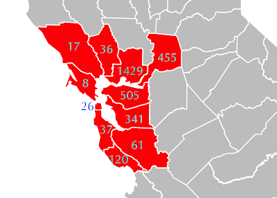 well-being ranks of Bay Area counties