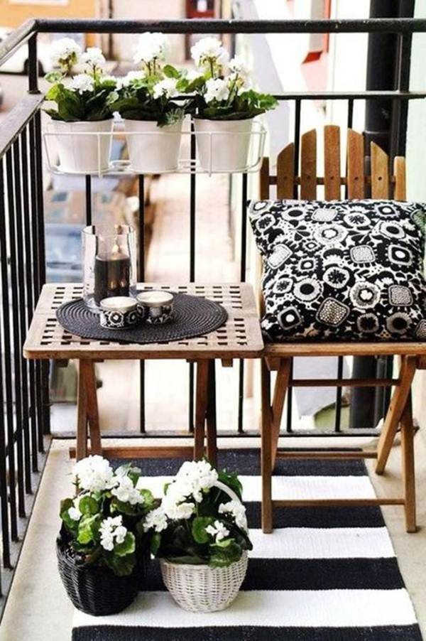 7 Ideas For Decorating Balconies or Terraces 1