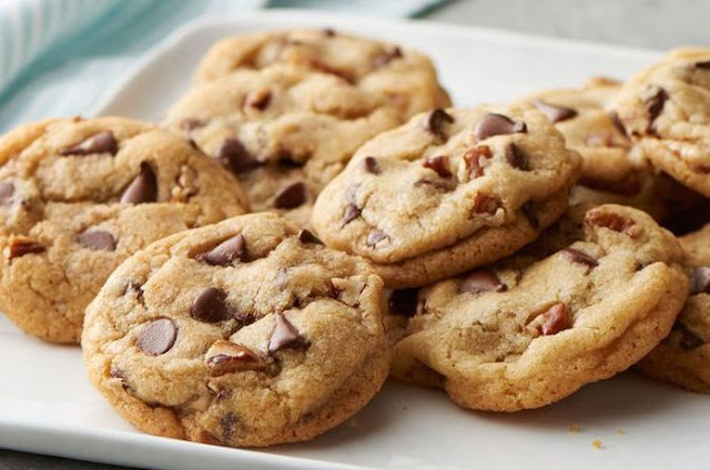 Kue Vanilla Chocochips Cookies