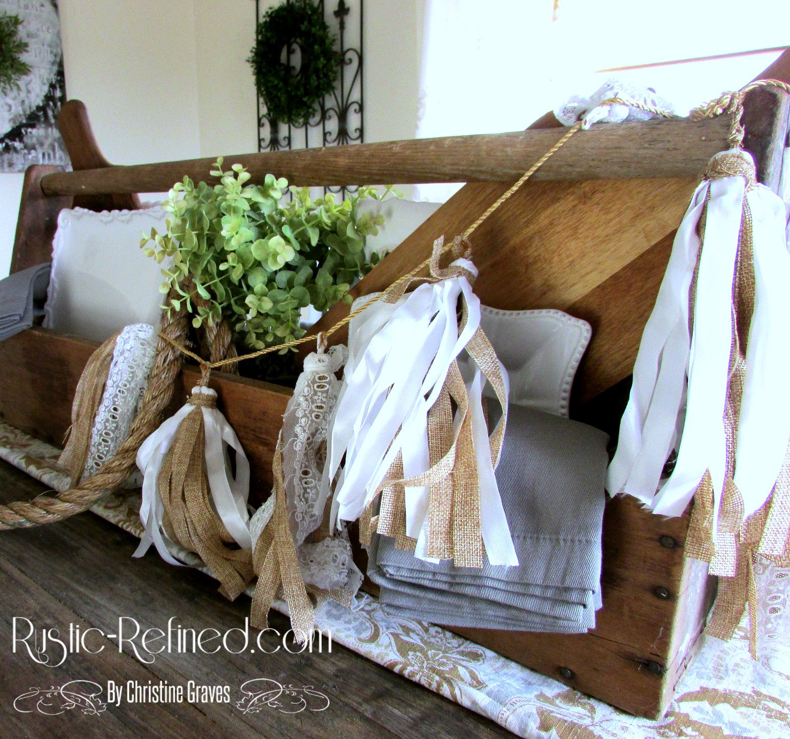 Rustic Kitchen Table Centerpiece Ideas