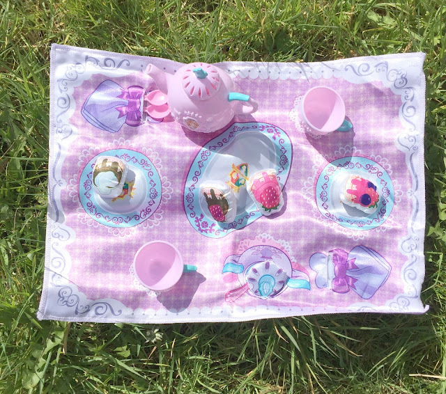 Jakks Toys Fabric Sofia The First Tea Set