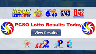 PCSO Lotto Results 08 October 2019