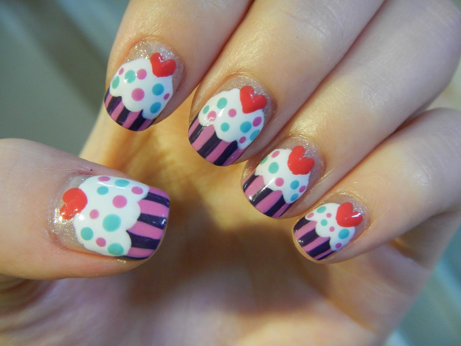 Karen Lives High: Cupcake Nails