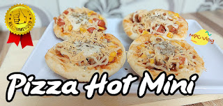 Resep Cara Menciptakan Pizza Hot Mini Yang Lezat Lembut Cocok Untuk Jualan