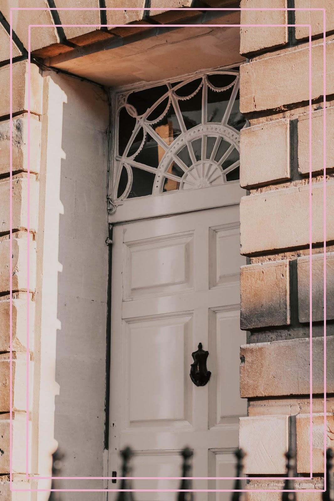 Bath city historic front door photography