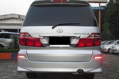 Eksterior Toyota Alphard Gen1 Facelift
