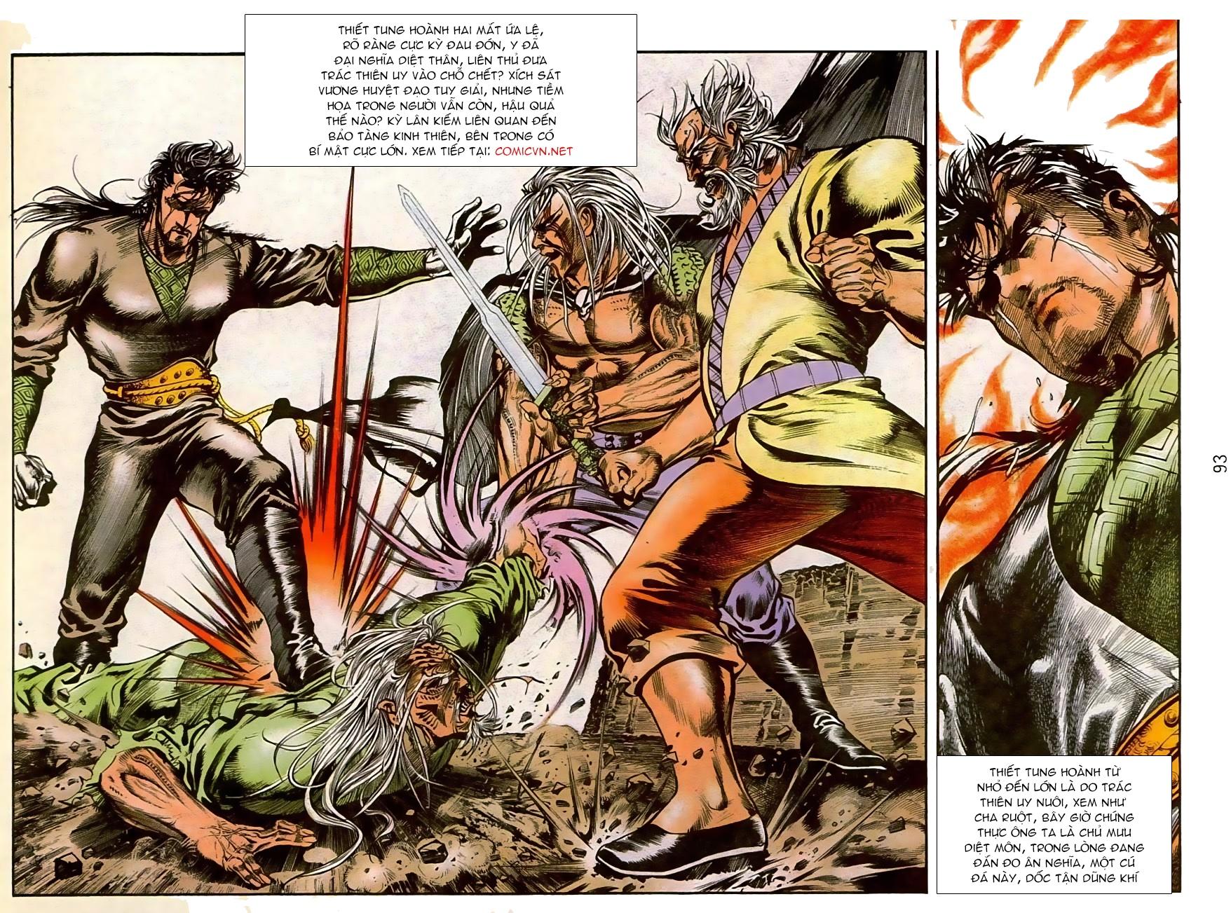 Thiết Tướng Tung Hoành chap 270 - Trang 18