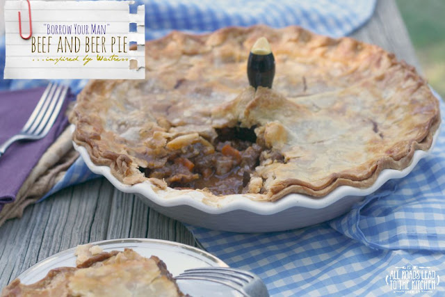 """Borrow Your Man"" Beef and Beer Pie"