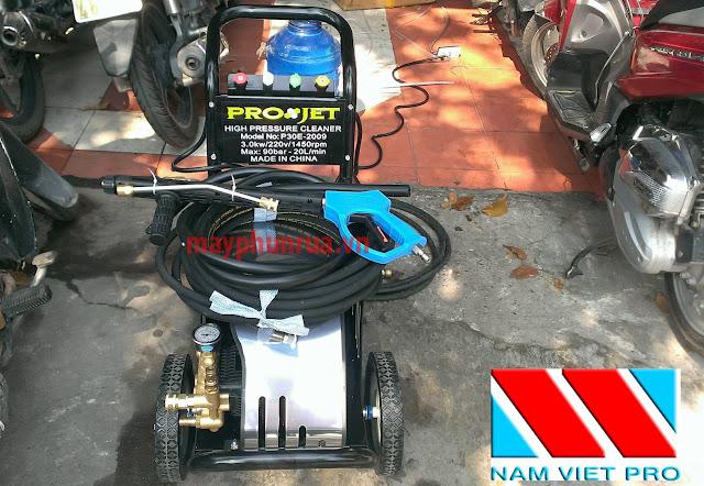 máy rửa xe áp lực cao P30E-2009