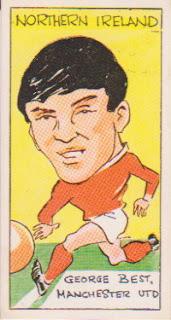 George Best Manchester United sticker FKS Reddish maid