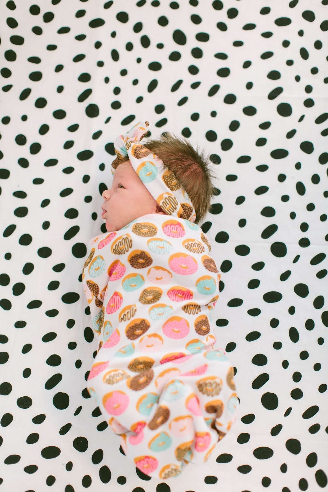 Mint and Arrows, Doughnut Swaddle