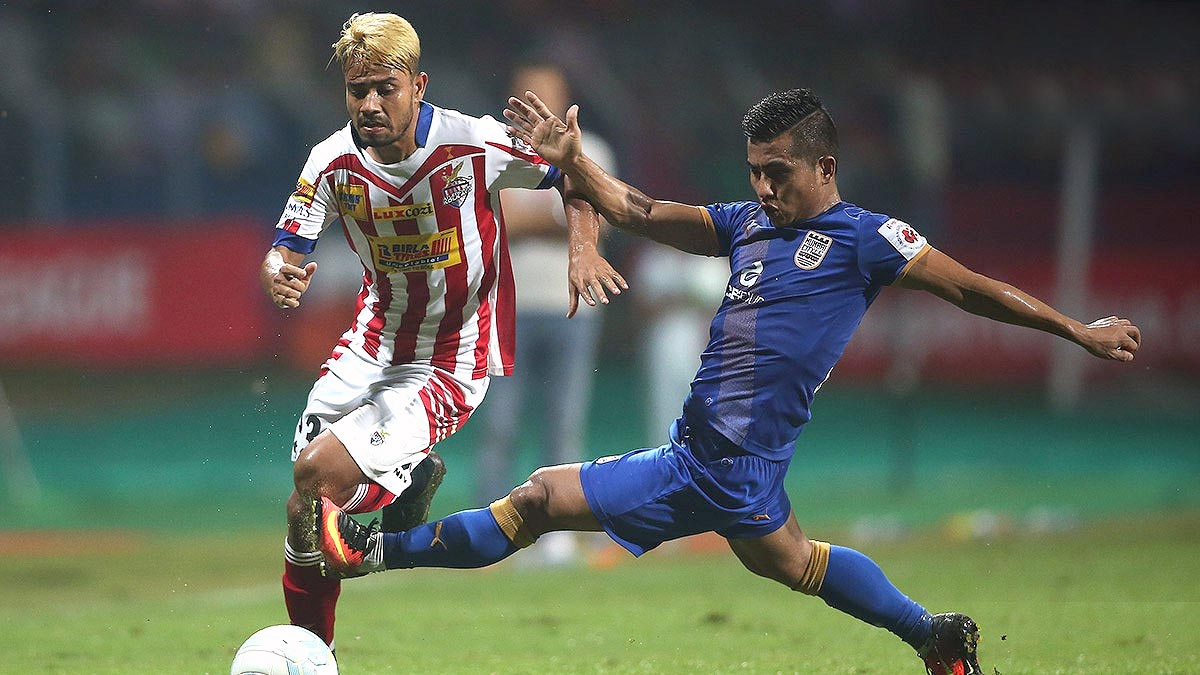 Mumbai  City FC wins over Atlético de Kolkata on 25th October 2016