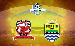 Susunan Pemain Madura United vs Persib Bandung - Liga 1 Jumat 4 Mei 2018