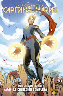 100% Marvel HC. La Poderosa Capitana Marvel: La colección completa