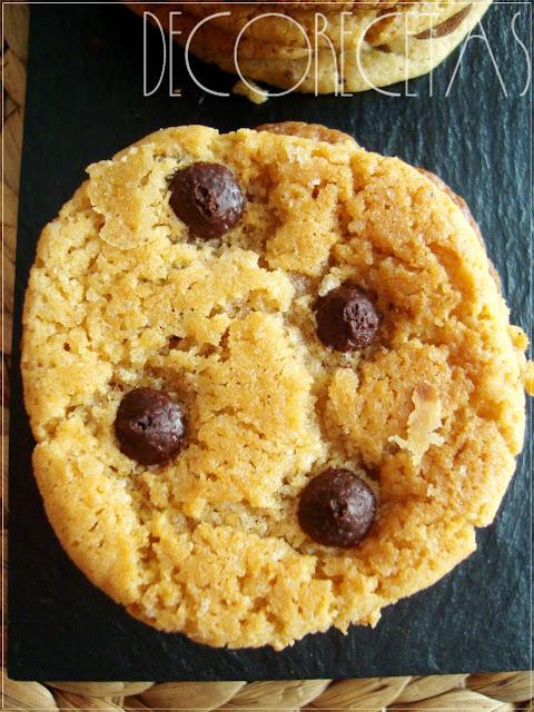 Maxi-Cookies de chocolate