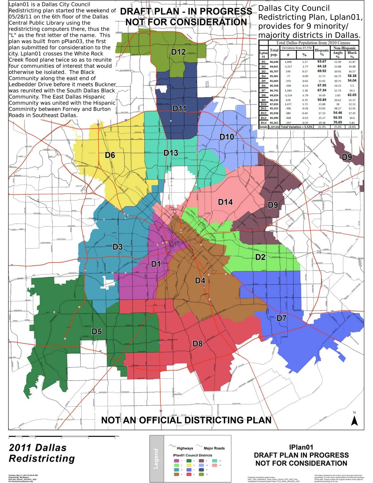 Dallas Redistricting 2011: Second Dallas City Council ... on washington dc city map, dfw area map, yoakum city map, princeton city map, dallas old maps, fort worth texas city limits map, university of chicago city map, palestine city map, grimes city map, houston city map, denton city map, greeneville city map, new roads city map, richardson city map, dallas population 2014, lewisville city map, adairsville city map, johnson county city map, ft worth city map, waxahachie city map,