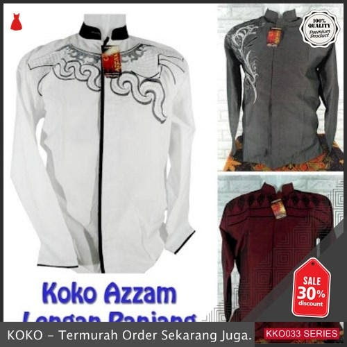 KKO33 KRS287 Baju Koko Panjang 01 Untuk Lebaran 2019 BMGShop