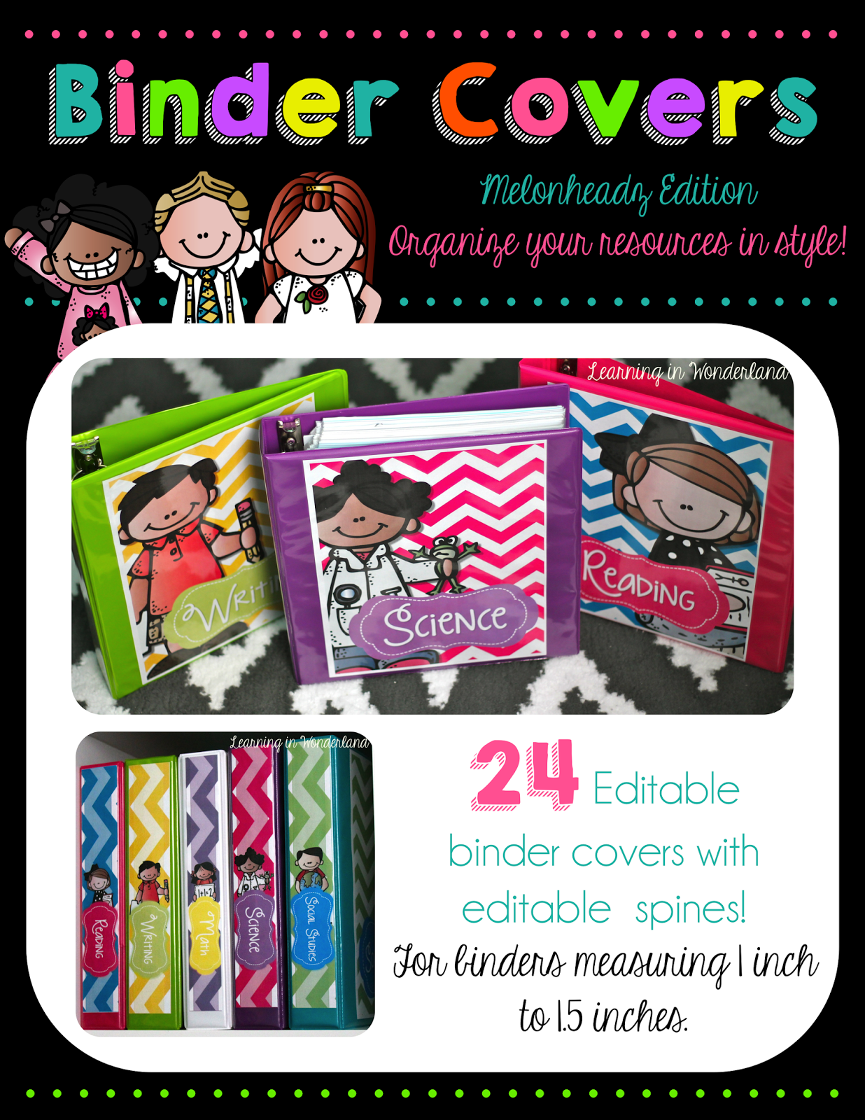 http://www.teacherspayteachers.com/Product/Lets-Get-Organized-Melonheadz-Kids-Edition-Teacher-Toolbox-and-More-1270171