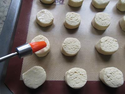 Polvorones de coco Thermomix