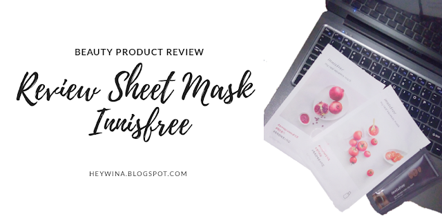 Review Sheet Mask Innisfree