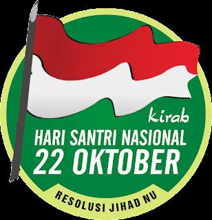 Logo Hari Santri 2016 | www.indrakusuma.web.id