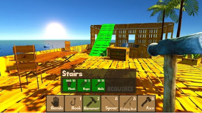Raft Survival Simulator Mod Apk Unlimited Money