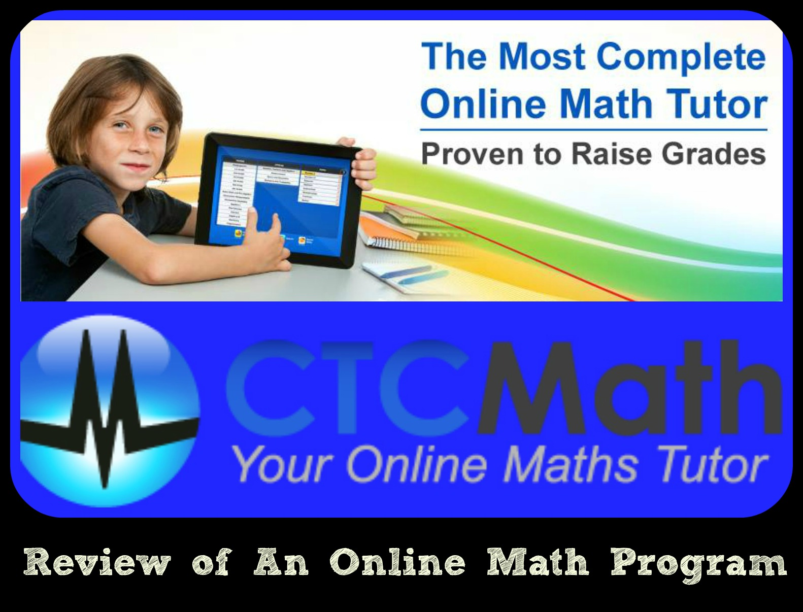 Review of CTC Math: An Online Math Program - As We Walk Along the Road