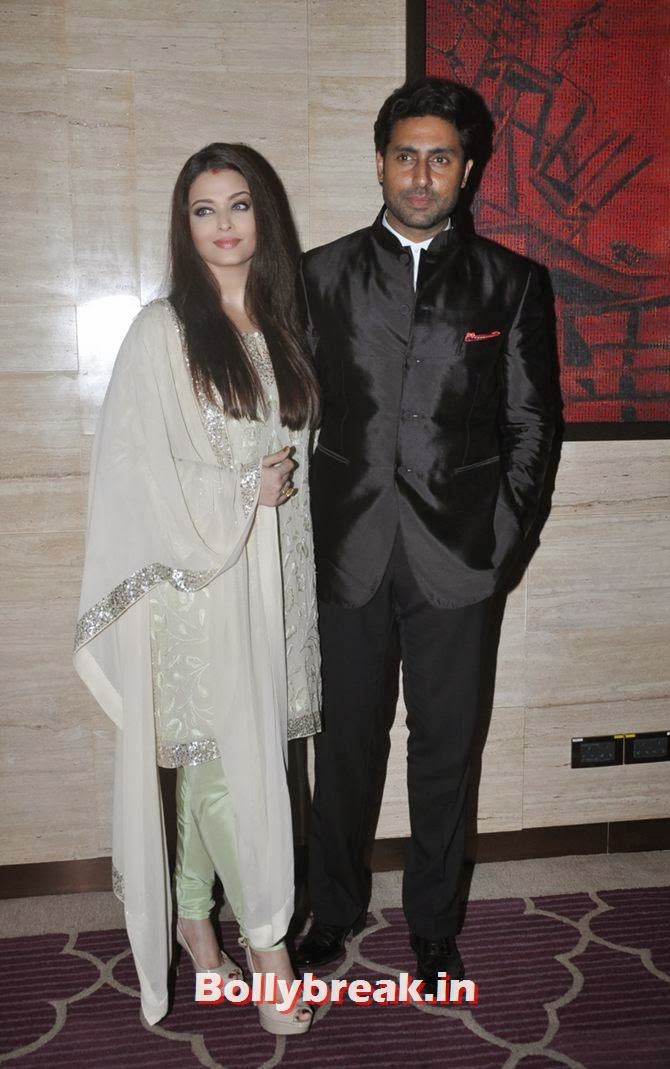 Aishwarya Rai and Abhishek Bachchan, Bollywood Stars Attend Asin's birthday bash