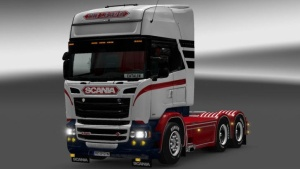 The Legend skin for Scania RJL truck