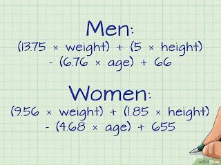 طريقة حساب انقاص الوزن