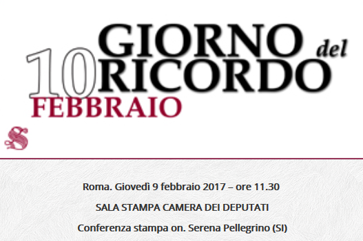 Giorno del ricordo importante conferenza stampa alla for Rassegna stampa camera deputati